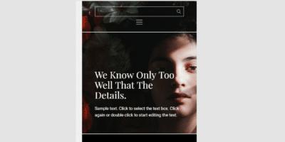zelf website maken mobiele weergave